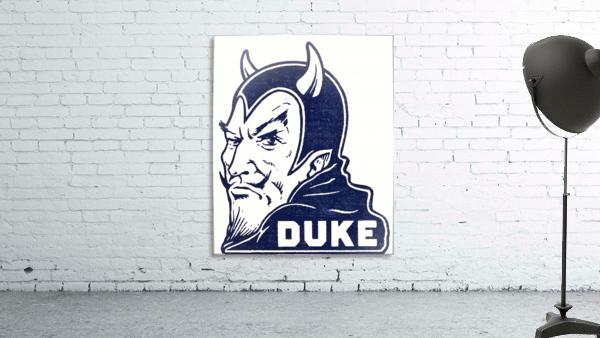 1950s duke university blue devil college art