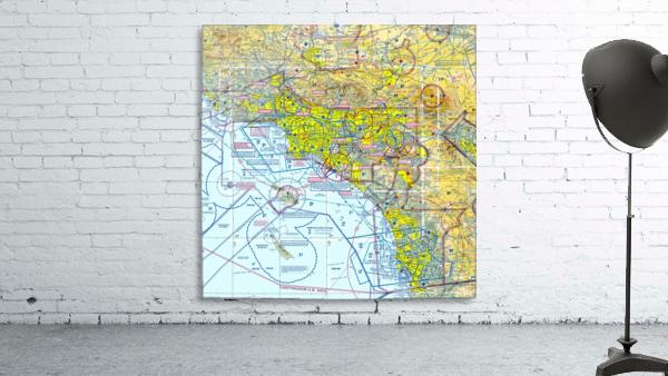 LA & San Diego Aeronautical Wall Art
