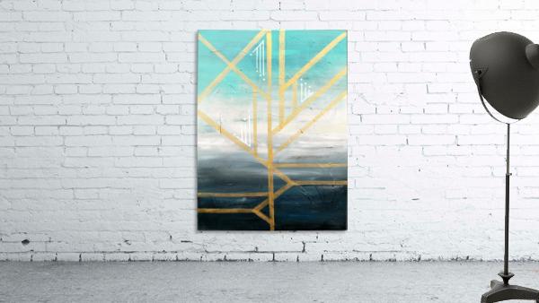 Art deco geometric II
