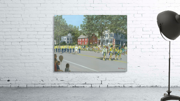 Labor Day Parade - Newtown Series 14X18