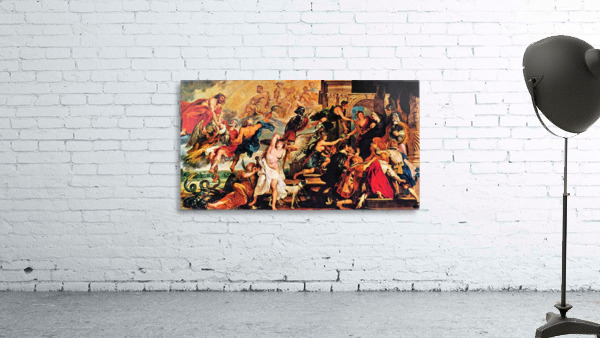 Medici s and the Apotheosis of Henry IV by Rubens