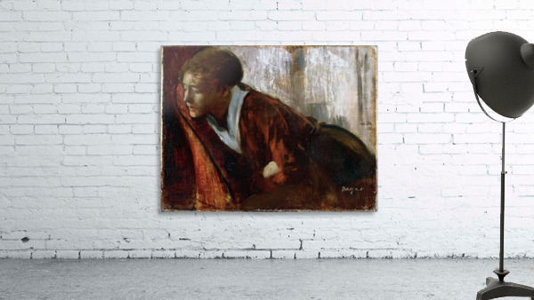Melancholy by Degas