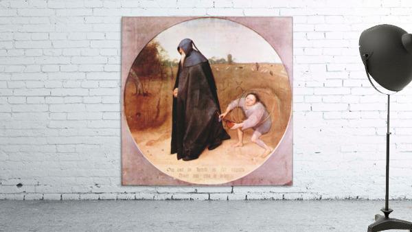 Misanthrope by Pieter Bruegel