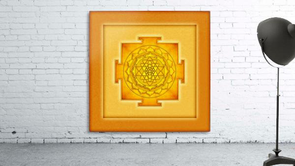 Golden Sri Yantra III