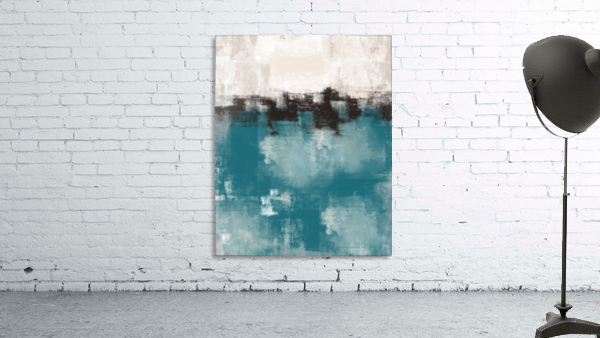 Blue Gray Black Abstract DAP 20013