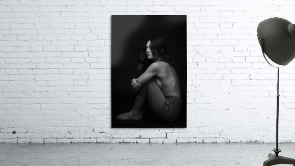 Black and White Woman Portrait 1