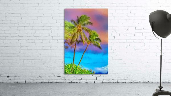 Palms Against The Sky