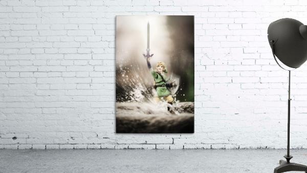 Legend of Zelda - Link in Splash