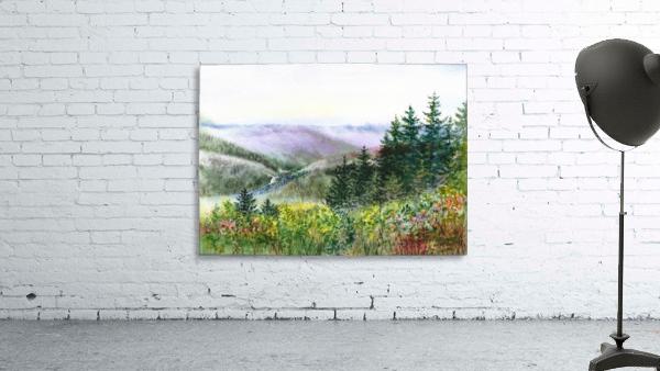 Landscape With Redwood Creek