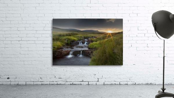 River Tawe sunset
