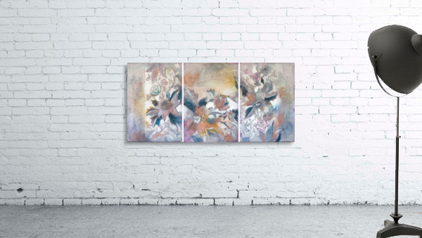 Riverton Wallpaper Tracings Triptych