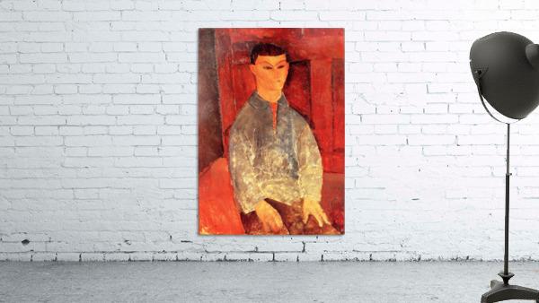 Modigliani - Portrait of Moise Kisling -3-
