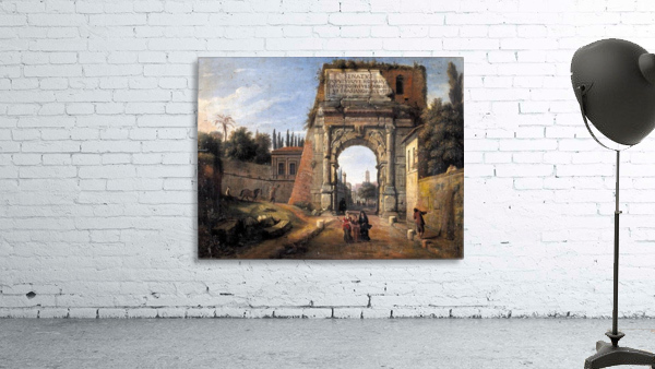 View of the Arch of Titus