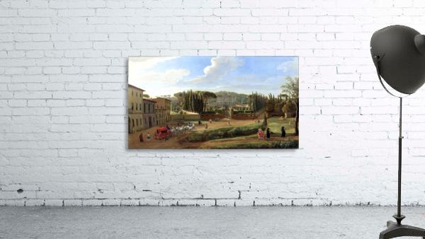 A view of the Villa Aldobrandini