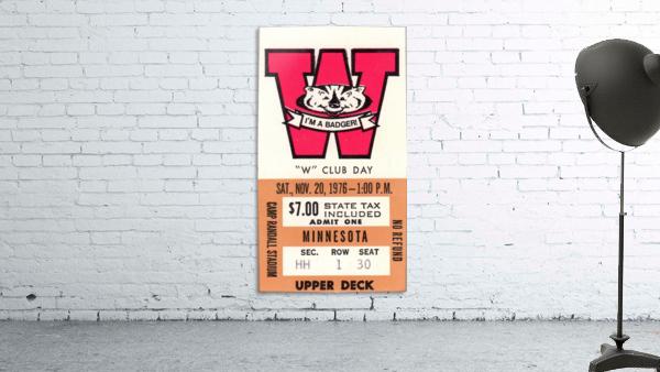 1976 Wisconsin vs. Minnesota