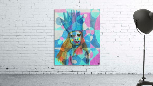 Woman in blue-5