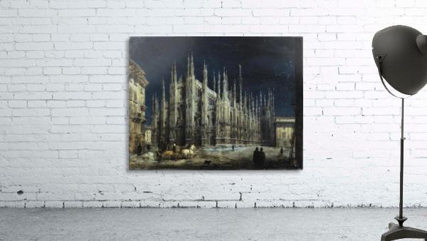 Notturno di Piazza del Duomo a Milano