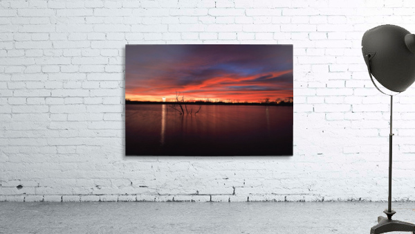 Lake Wellington Sunset