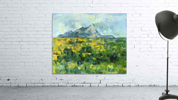 Mount St. Victiore by Cezanne