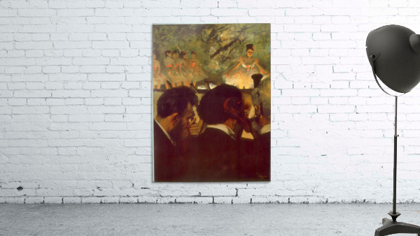 Musicians by Degas