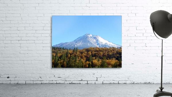 Mt Shasta in Autumn