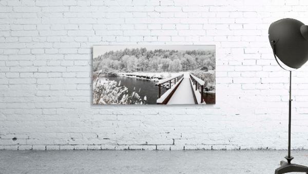 Rugby Pitch Bridge- Winter