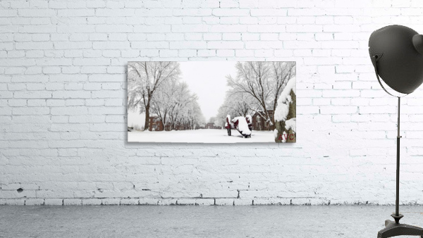 Parade Ground-- Winter
