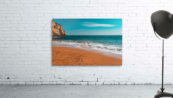 Ocean Beach in Teal and Orange
