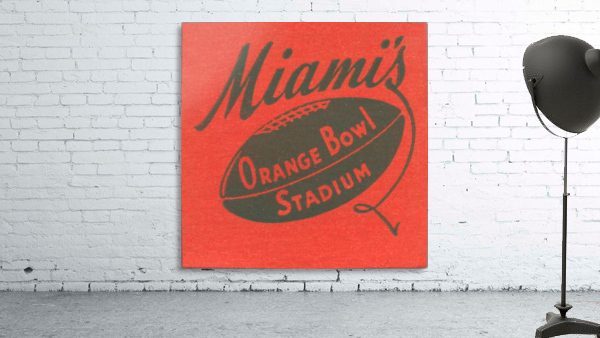 1950 Miami Orange Bowl