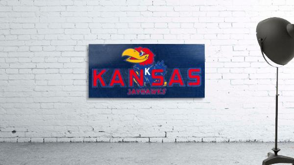 1950s Kansas Jayhawk Art
