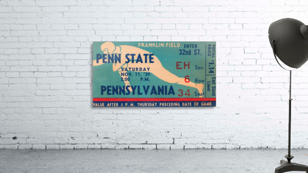 1939 Penn State vs. Pennsylvania