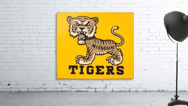 1950s Missouri Tigers Art Print