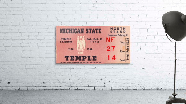 1942 Michigan State vs. Temple