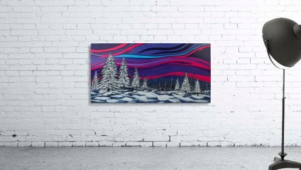 Snowy Trees Chinook Art IMG_0180