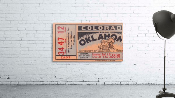 1951 Oklahoma vs. Colorado