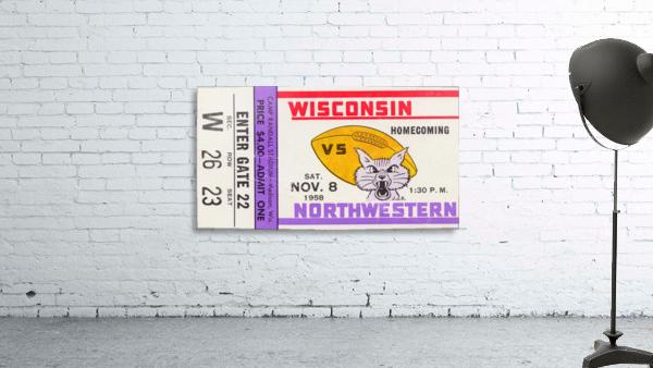 1958 Wisconsin vs. Northwestern