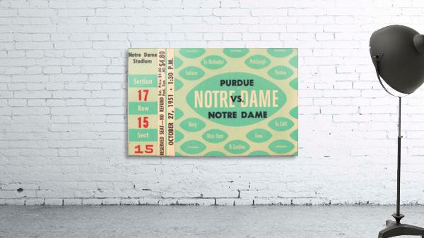 1951 Notre Dame vs. Purdue