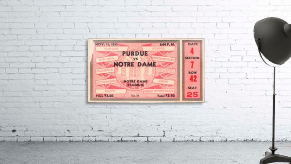 1933 Notre Dame vs. Purdue