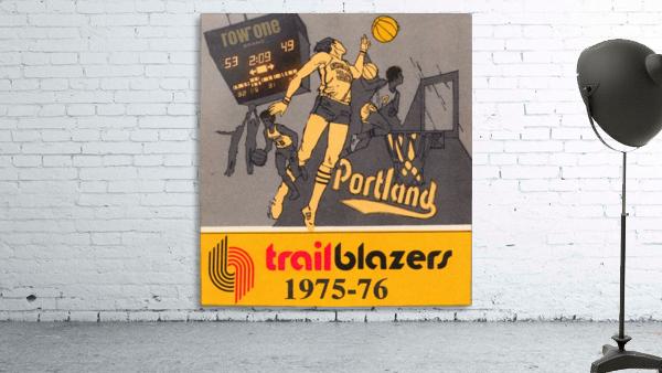 1975 Portland Trailblazers Art