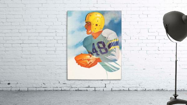 1948 Lon Keller Football Art