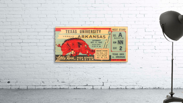 1942 Arkansas vs. Texas