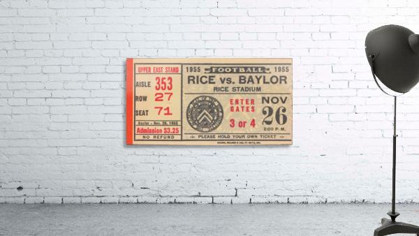 1955 Rice vs. Baylor