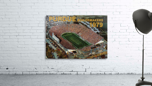 1979 Purdue Ross-Ade Stadium Art