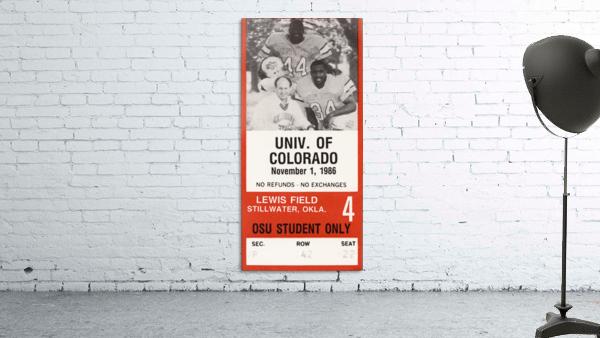 1986 Oklahoma State vs. Colorado