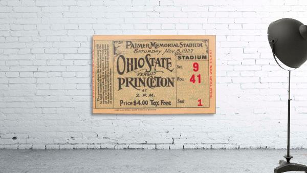 1927 Ohio State vs. Princeton