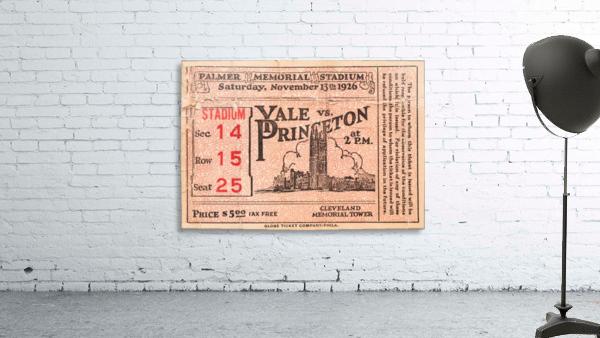 1926 Yale vs. Princeton