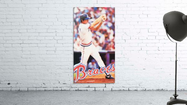 1983 Atlanta Braves Dale Murphy