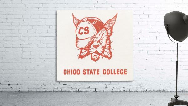 1950s Chico State College Wildcat Art