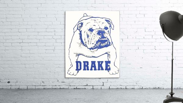 1950s Drake Bulldog Art
