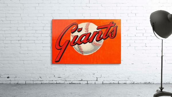 1960s San Francisco Giants Art